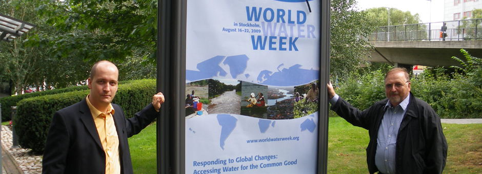 World Water Week – Stockholm